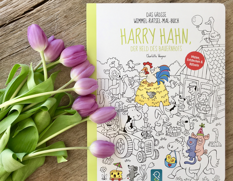Harry Hahn, der Held des Bauernhofs von Charlotte Wagner