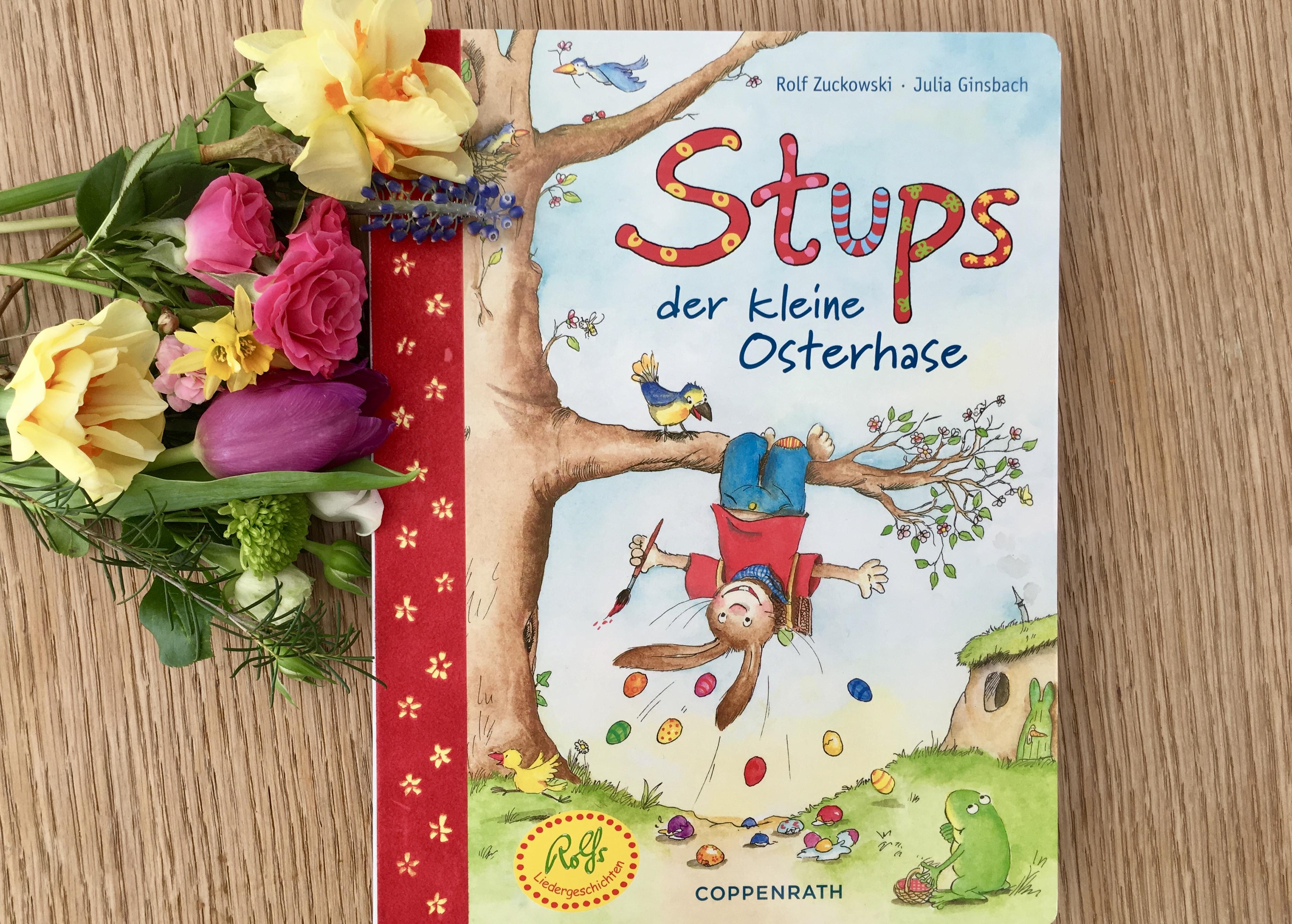 Stups, der kleine Osterhase von Rolf Zuckowski (Text) und Julia Ginsbach (Illustration)