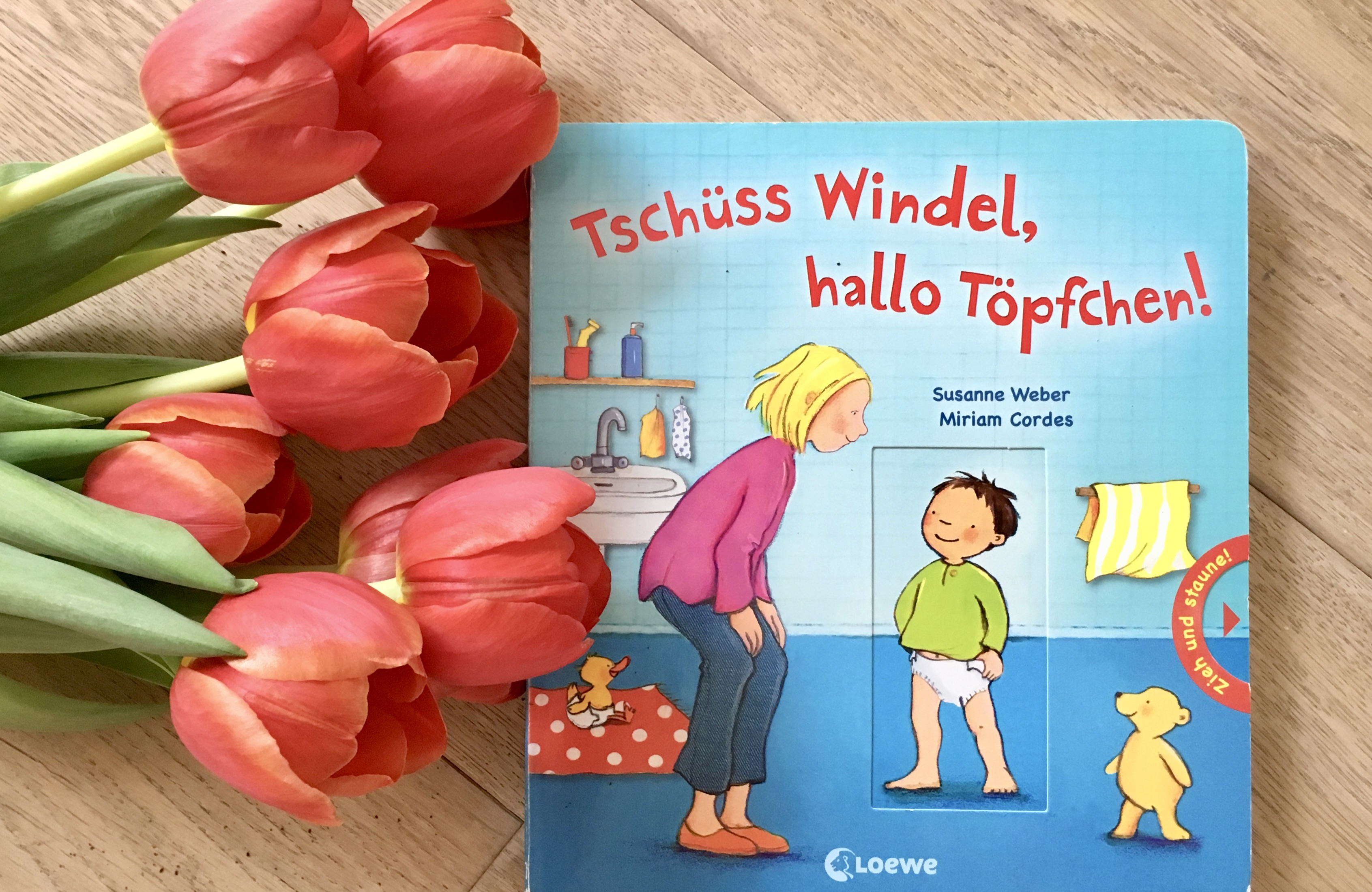 Tschüss Windel, hallo Töpfchen! von Susanne Weber (Text) und Miriam Cordes (Illustration)