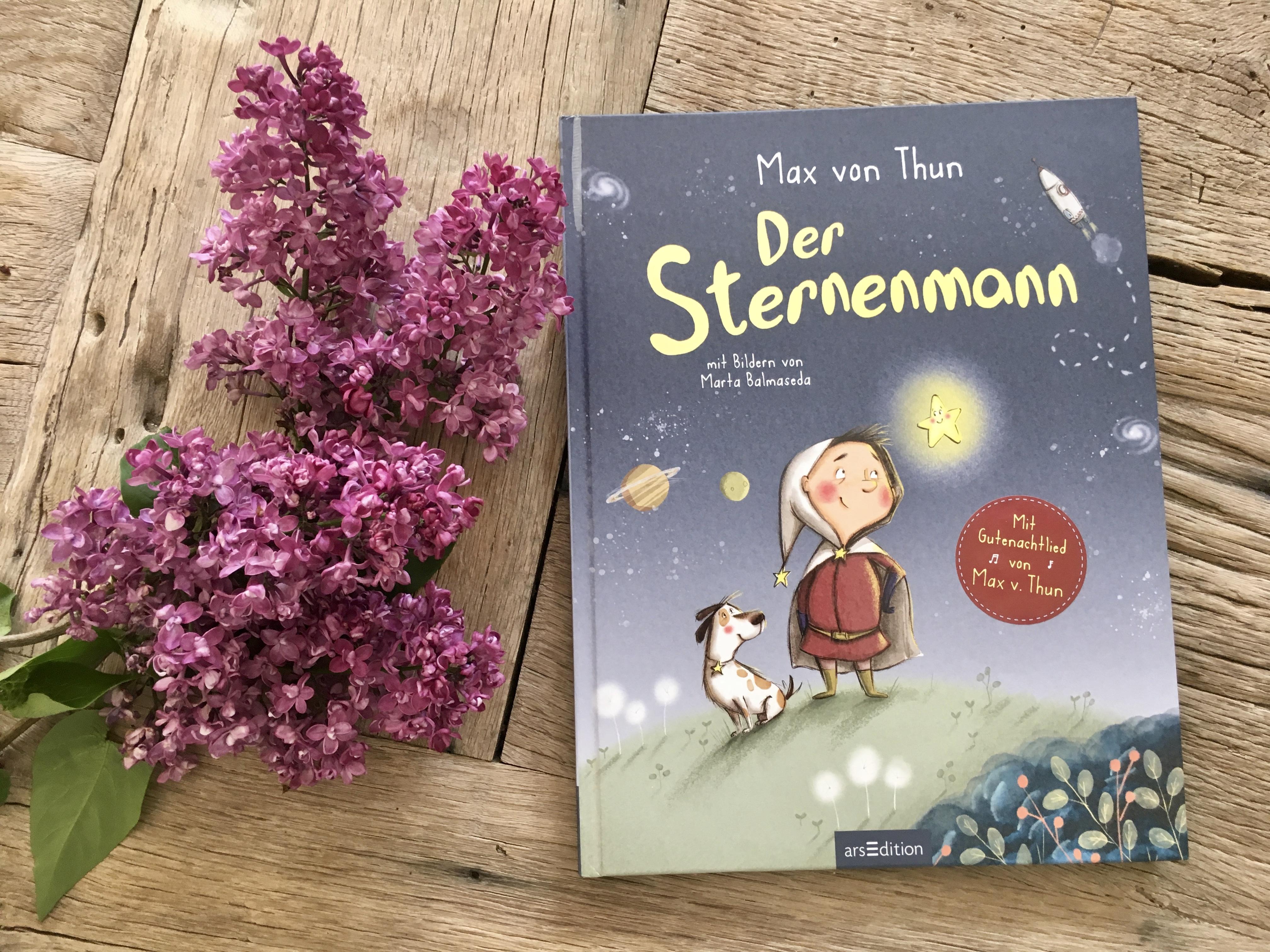 Der Sternenmann von Max von Thun (Text) und Marta Balmaseda (Illustrationen)