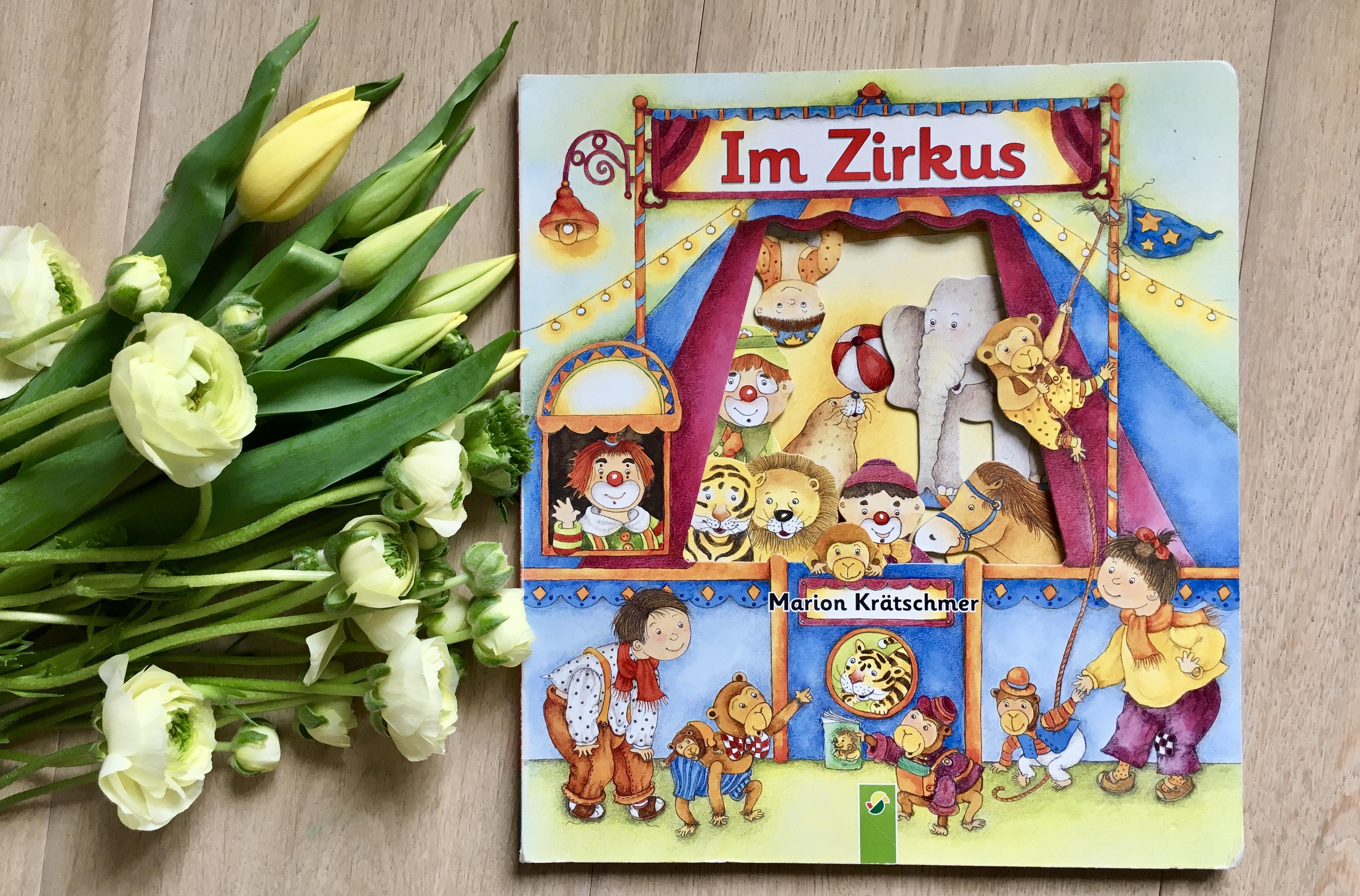 Im Zirkus von Ute Haderlein (Text) Marion Krätschmer (Illustrationen)