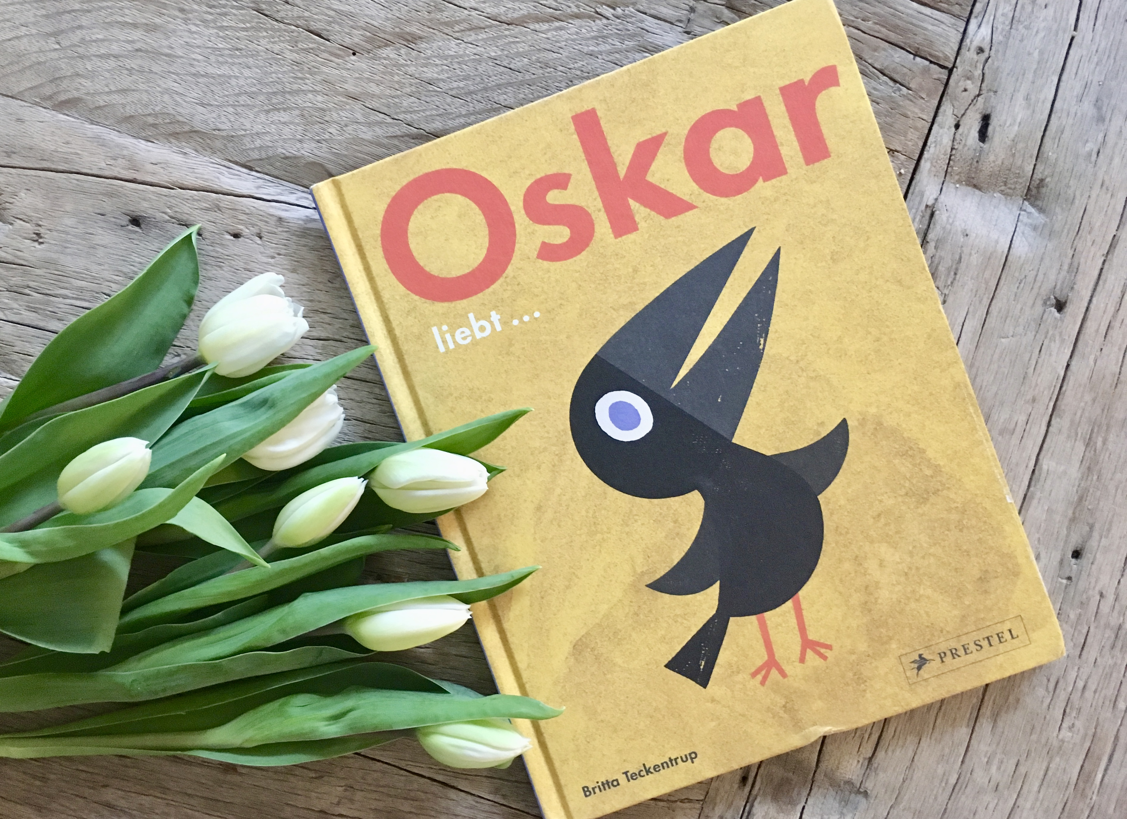 Oskar liebt... von Britta Teckentrup