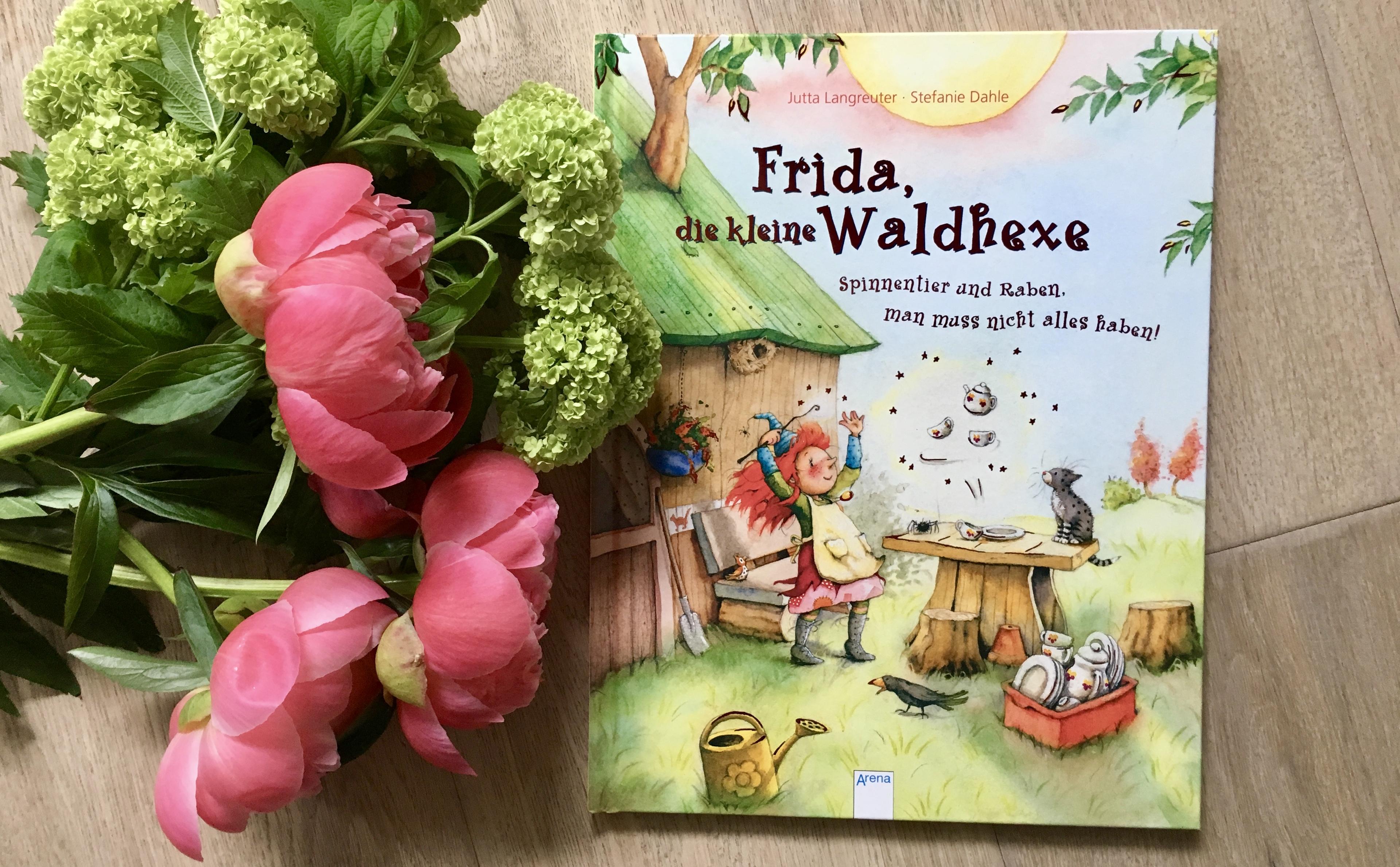 Frida, die kleine Waldhexe - Spinnentier und Raben, man muss nicht alles haben Jutta Langreuter (Text) und Stefanie Dahle (Illustration)