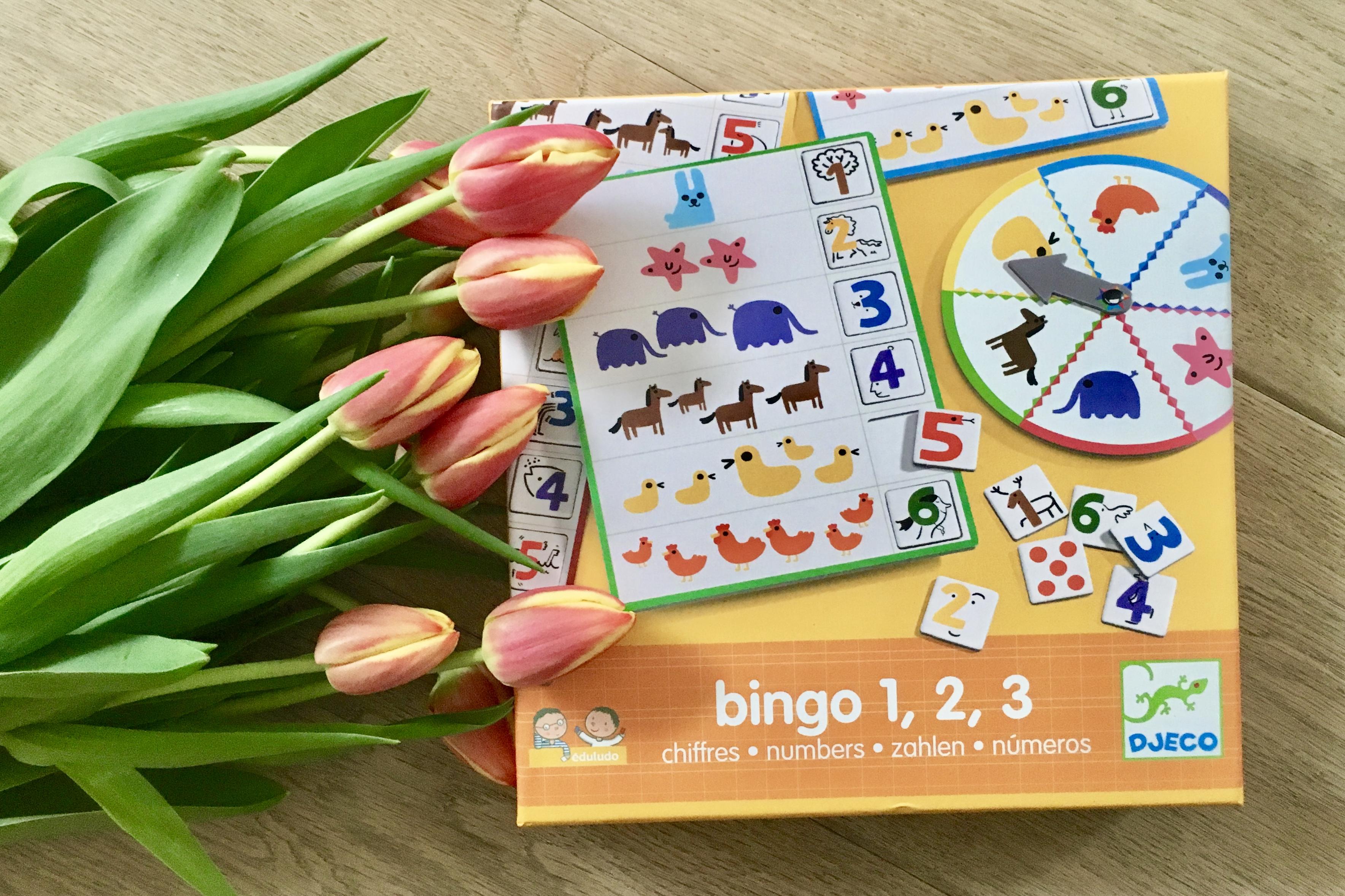 bingo 1,2,3 - Zahlen
