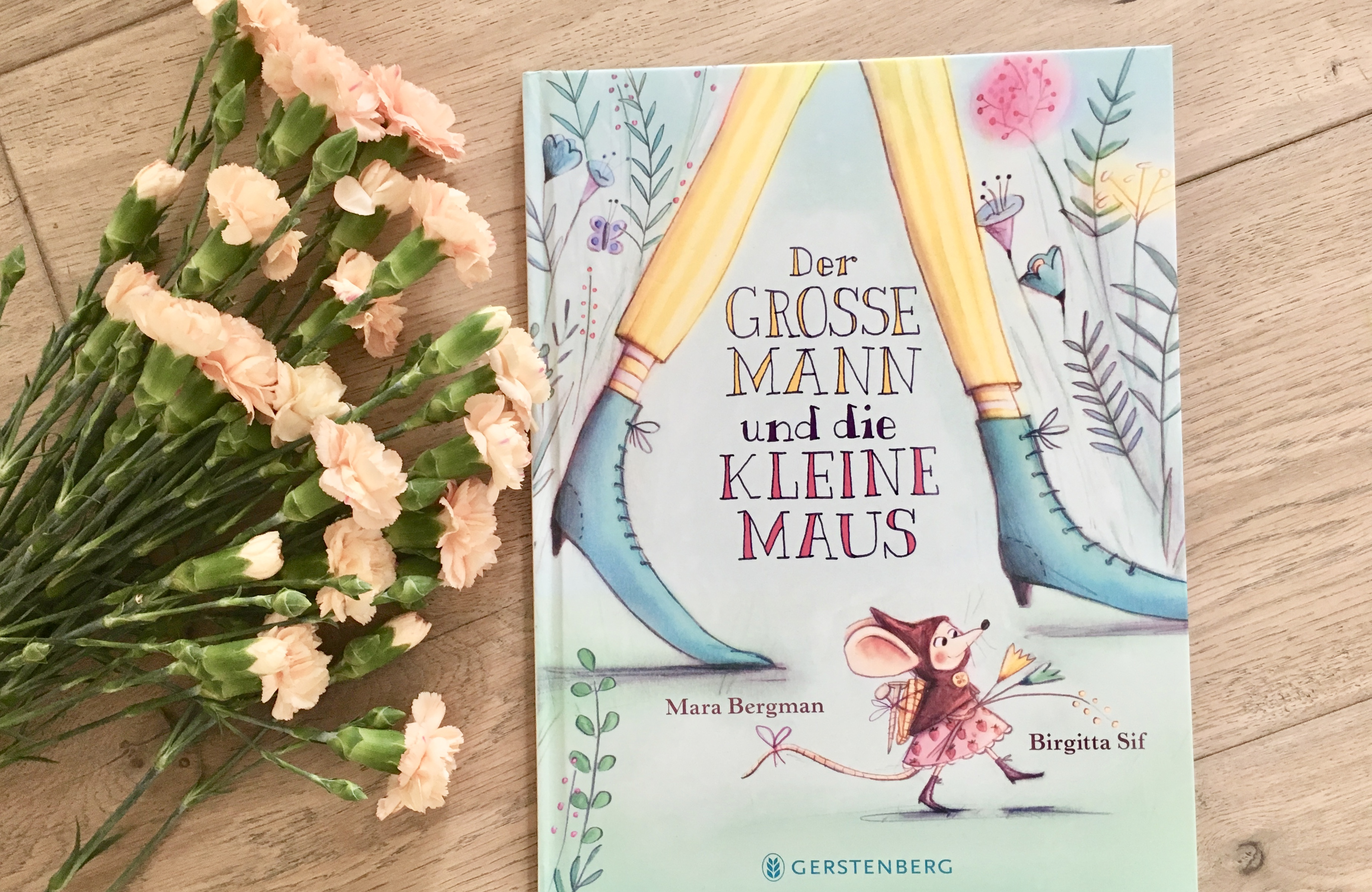 Der große Mann und die kleine Maus von Mara Bergman (Text) und Birgitta Sif (Illustration)