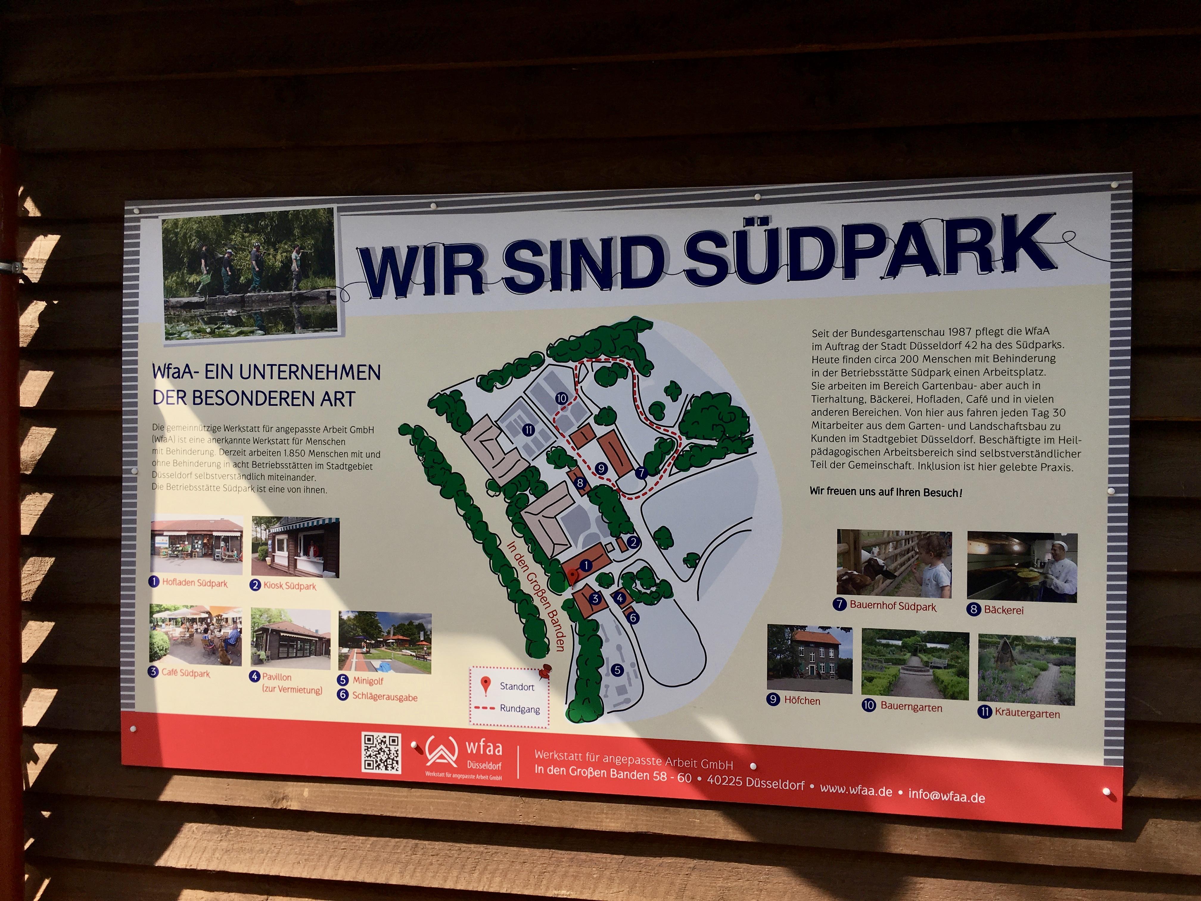 Spielplatz, Café und Streichelzoo im Südpark Spielplatz, Café und Streichelzoo im Südpark