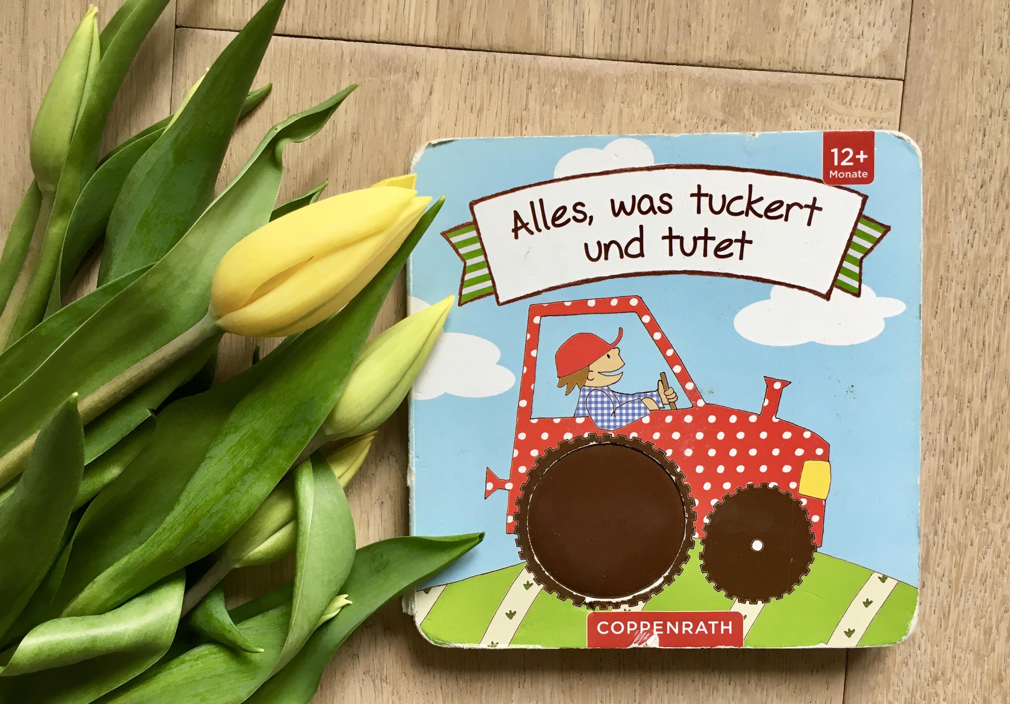 Alles, was tuckert und tutet von Anna Taube (Text) und Maja Bach (Illustration)