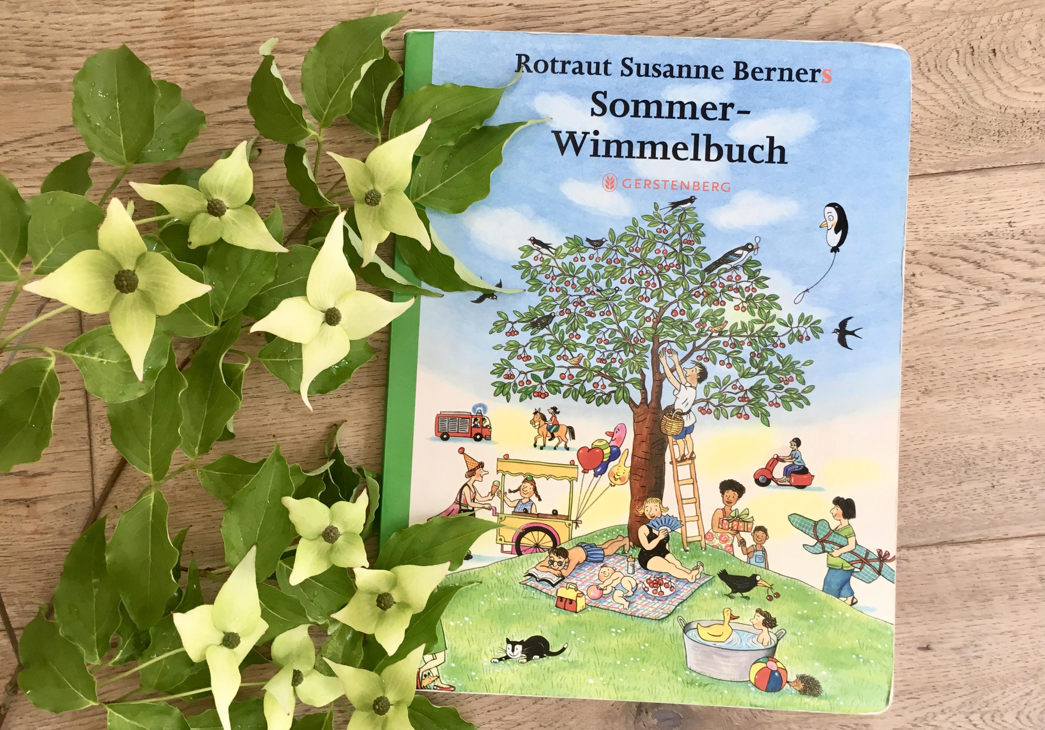 Sommer-Wimmelbuch von Rotraut Susanne Berner