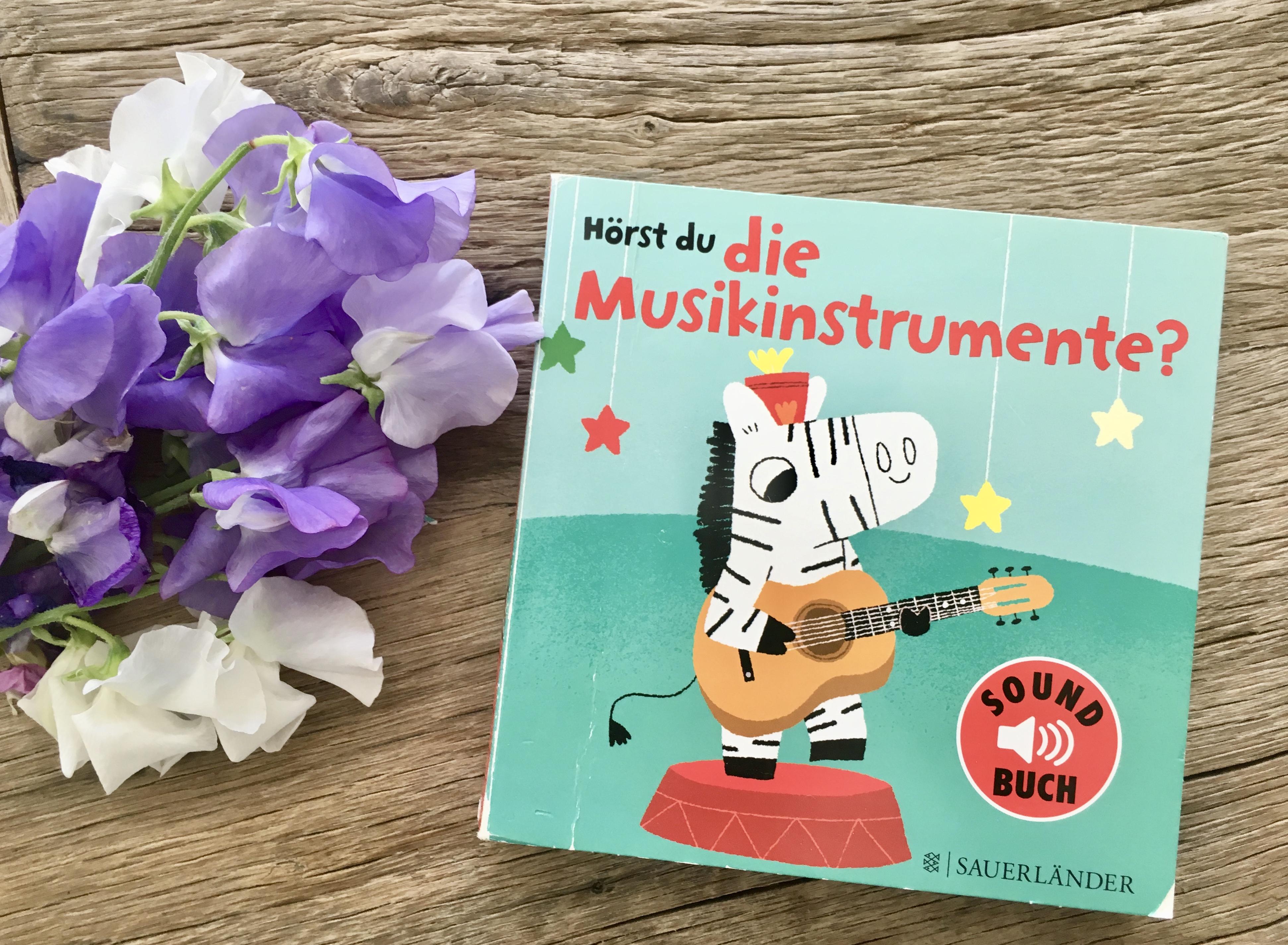 Hörst du die Musikinstrumente? von Marion Billet (Illustration)