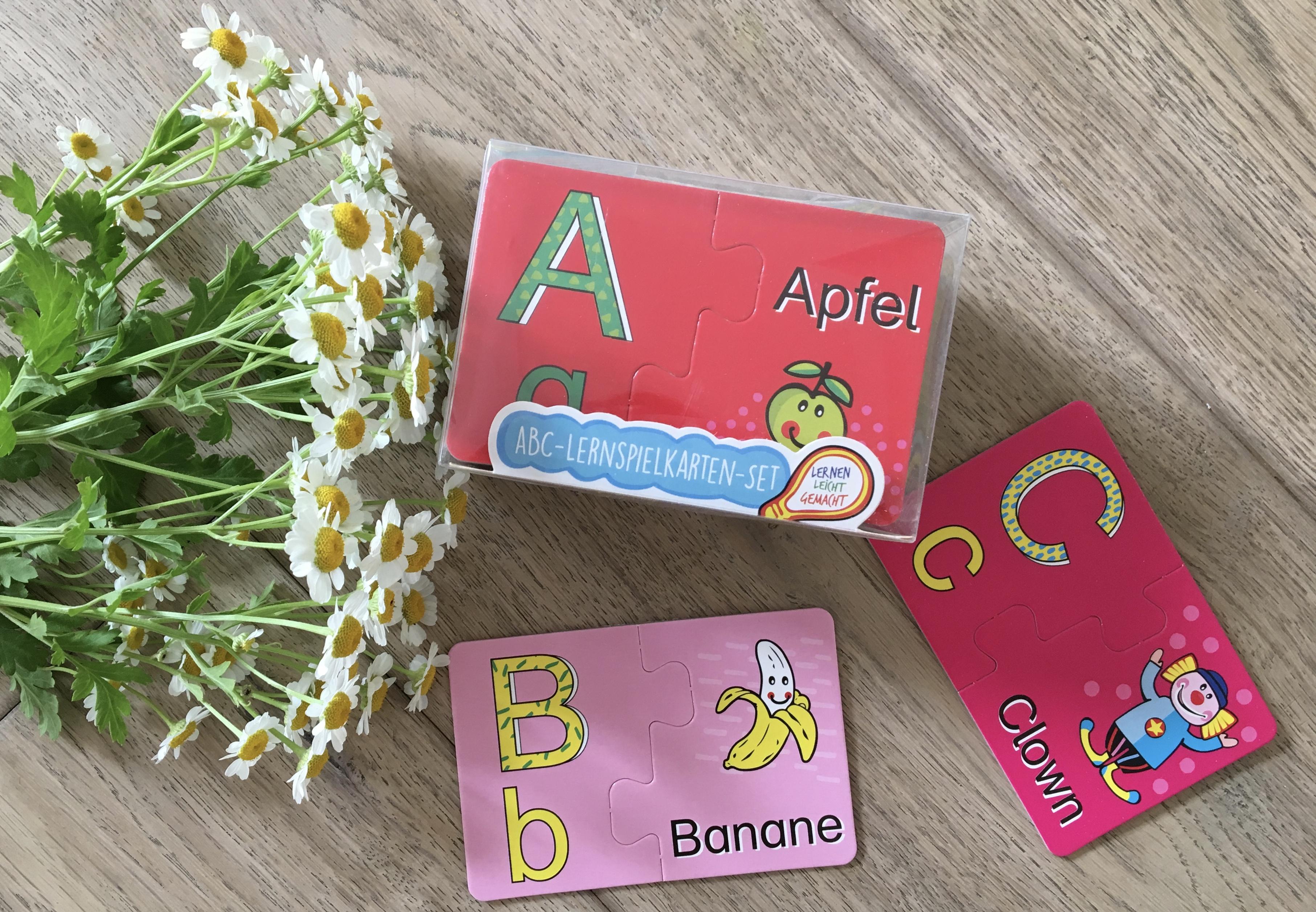 ABC-Lernspielkarten-Set von Trendhouse