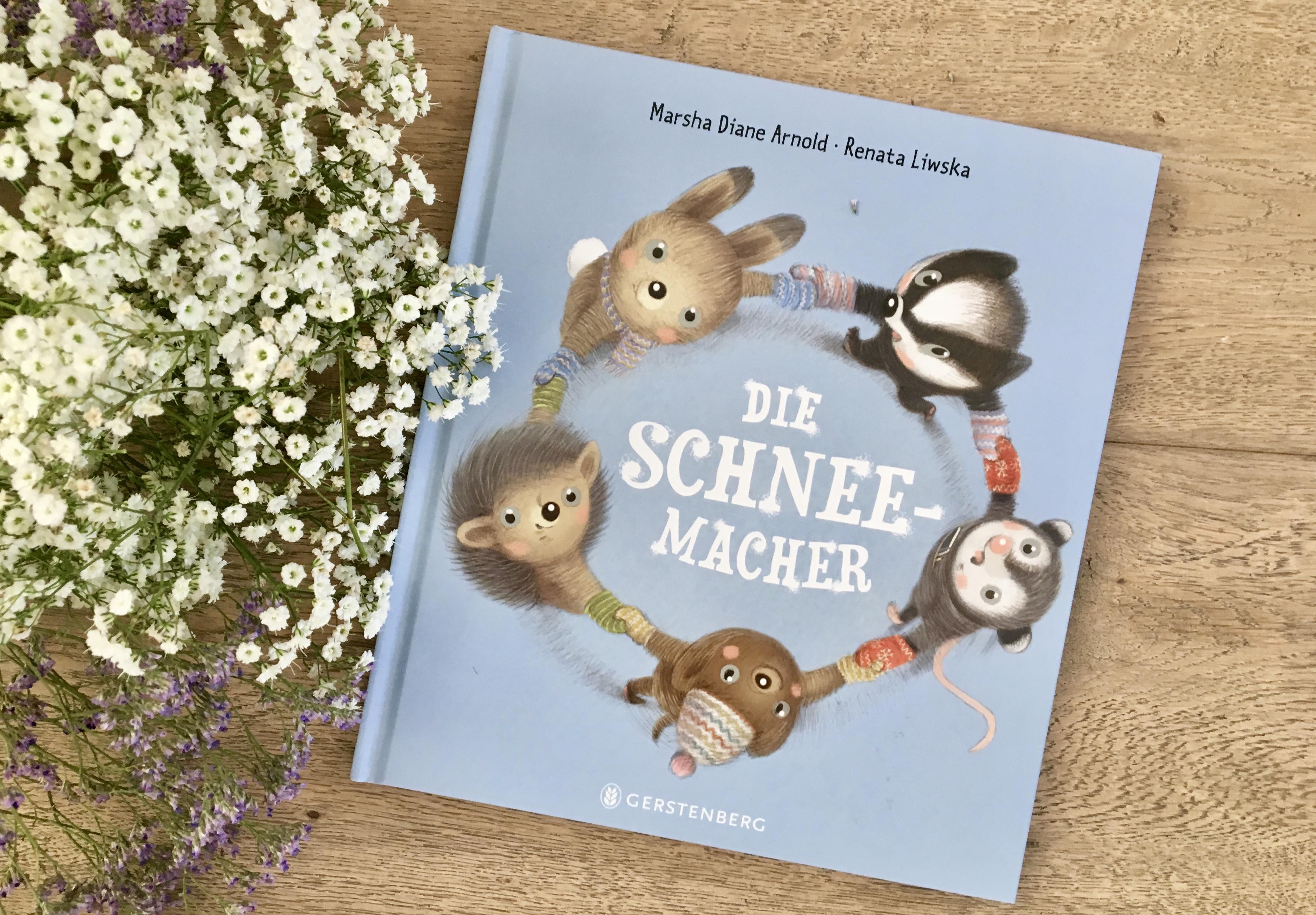 Die Schneemacher von Marsha Diane Arnold (Text) und Renata Liwska (Illustration)