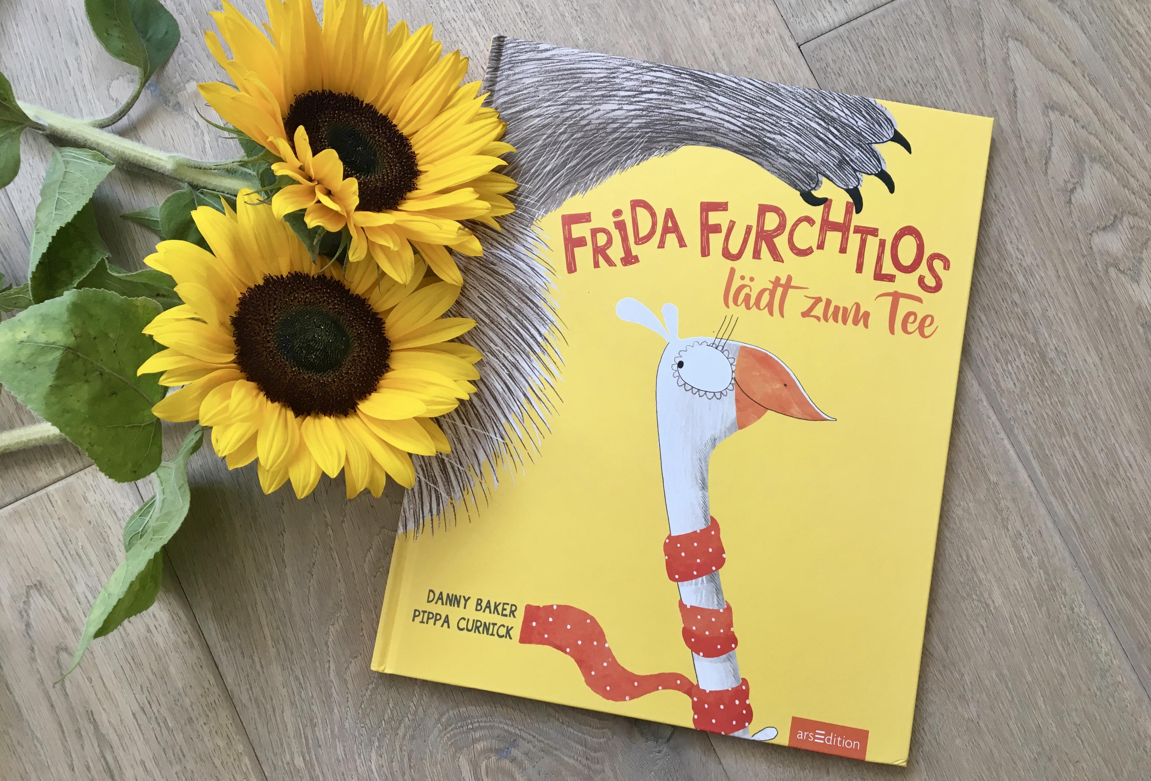 Frida Furchtlos lädt zum Tee von Danny Baker (Text) und Pippa Curnick (Illustration)