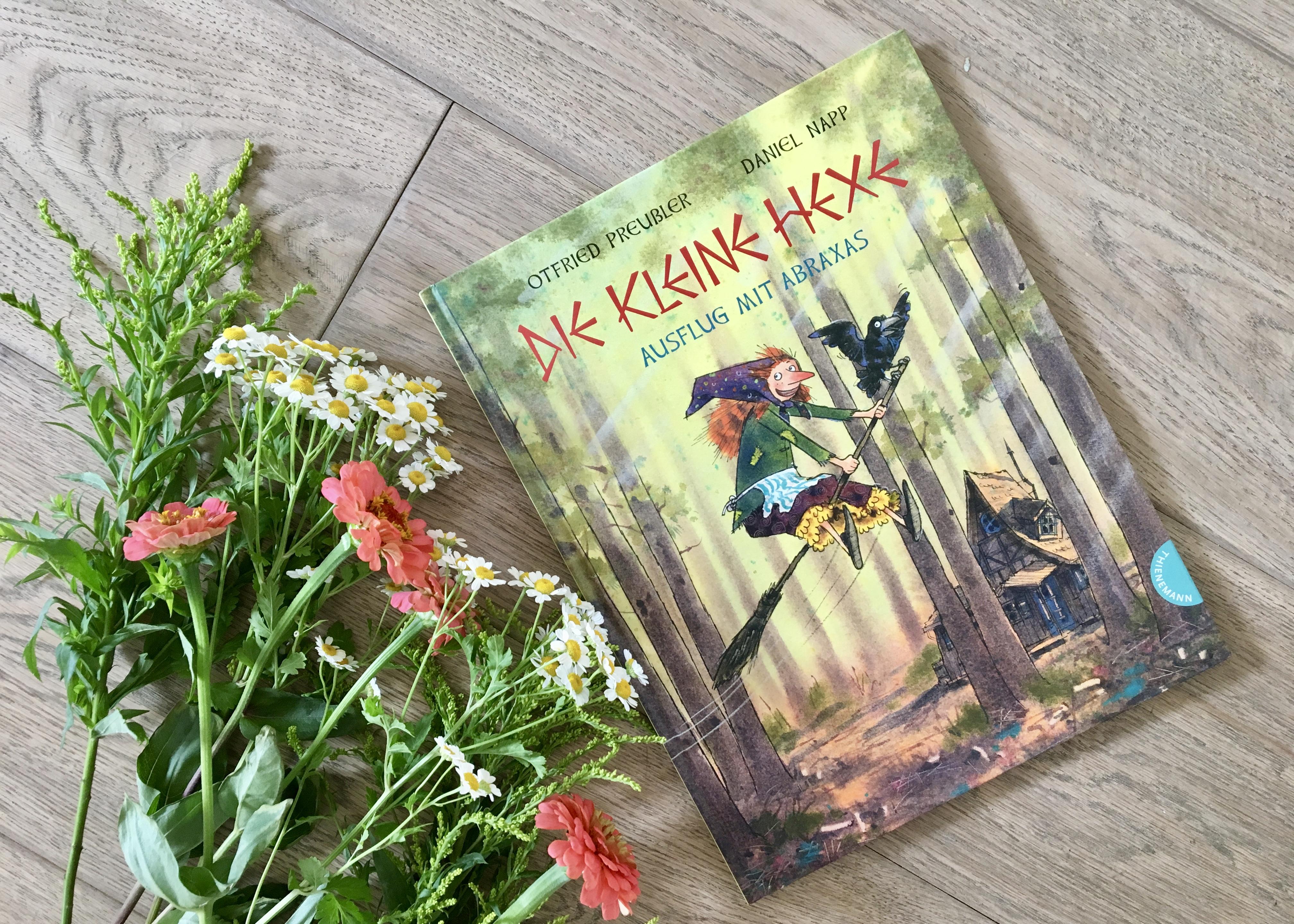 Die kleine Hexe - Ausflug mit Abraxas von Otfried Preußler, Susanne Preußler-Bitsch (Text) und Daniel Napp (Illustration)