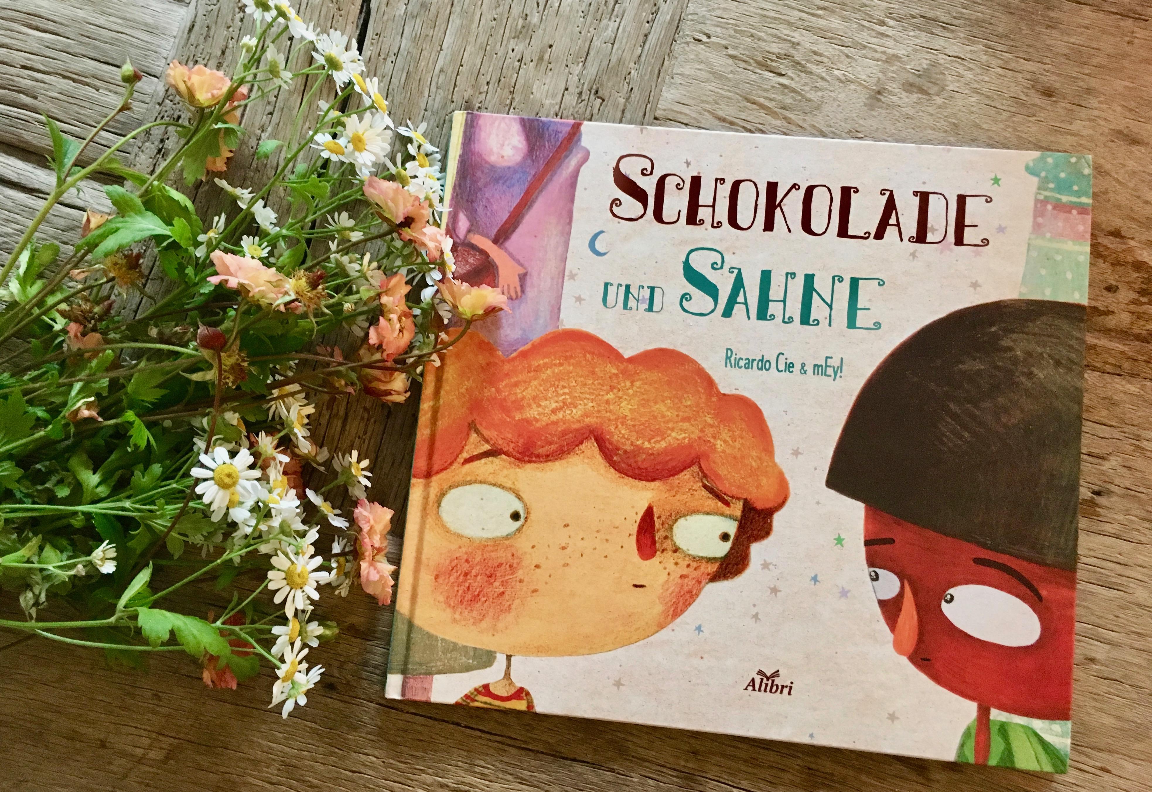 Schokolade und Sahne von Ricardo Cie (Text) und mEy! (Illustration)