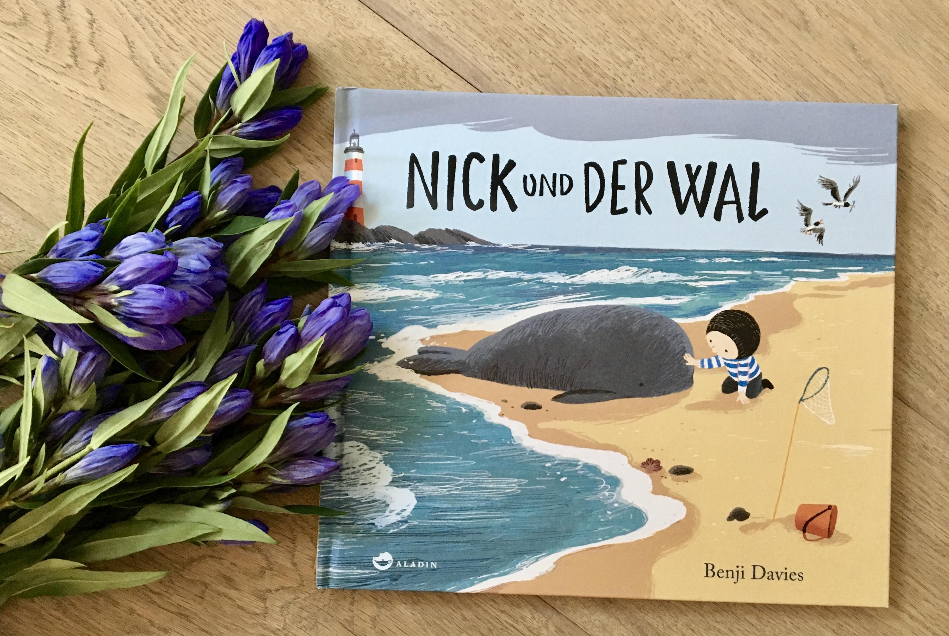 Nick und der Wal von Benji Davies (Text und Illustration)