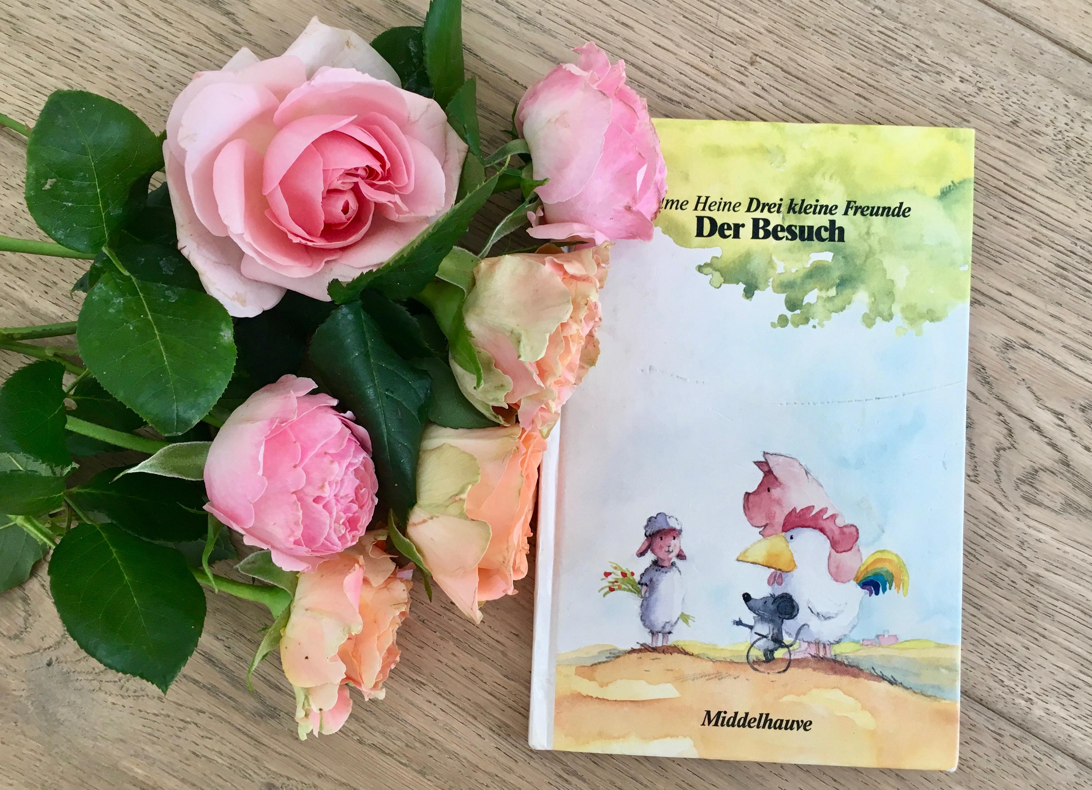 Drei kleine Freunde - Der Besuch von Helme Heine (Text und Illustration)