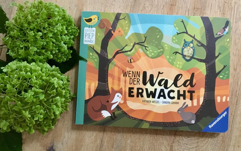 Wenn der Wald erwacht Sandra Grimm (Text) und Kathrin Wessel (Illustration)