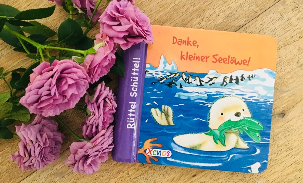 Danke, kleiner Seelöwe von Jackie East (Illustration)