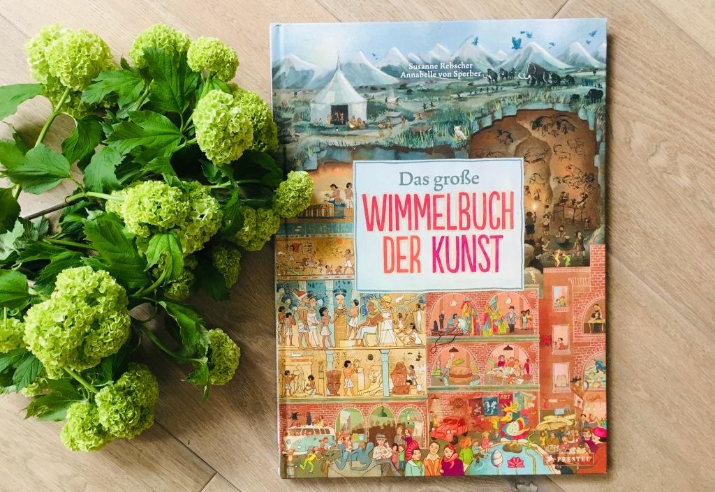 Wimmelbuch der Kunst von Susanne Rebscher (Text) und Annabelle von Sperber (Illustration)