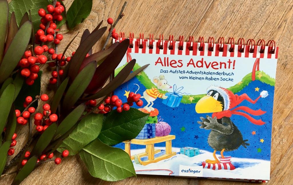Alles Advent! Das Aufstell-Adventskalenderbuch vom kleinen Raben Socke
