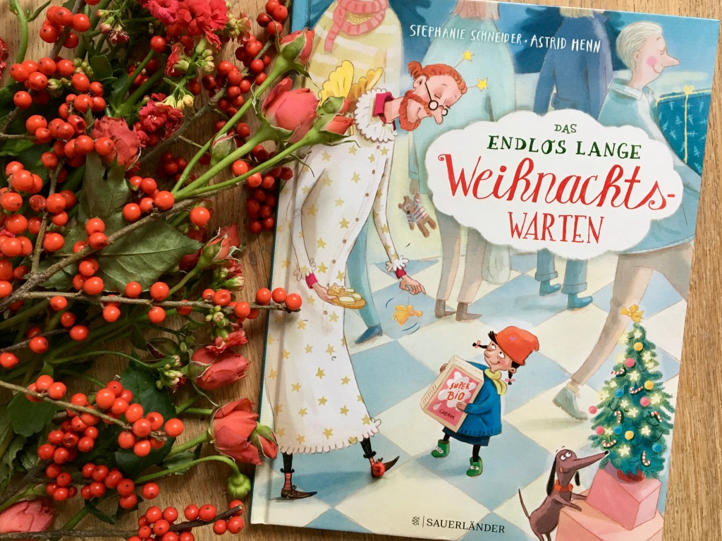 Das endlos lange Weihnachtswarten von Stephanie Schneider und Astrid Henn