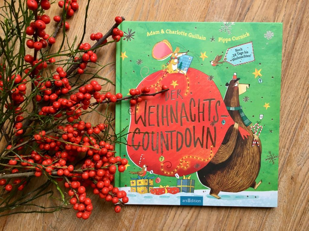 Der Weihnachts-Countdown von Adam & Charlotte Guillain und Pippa Curnick