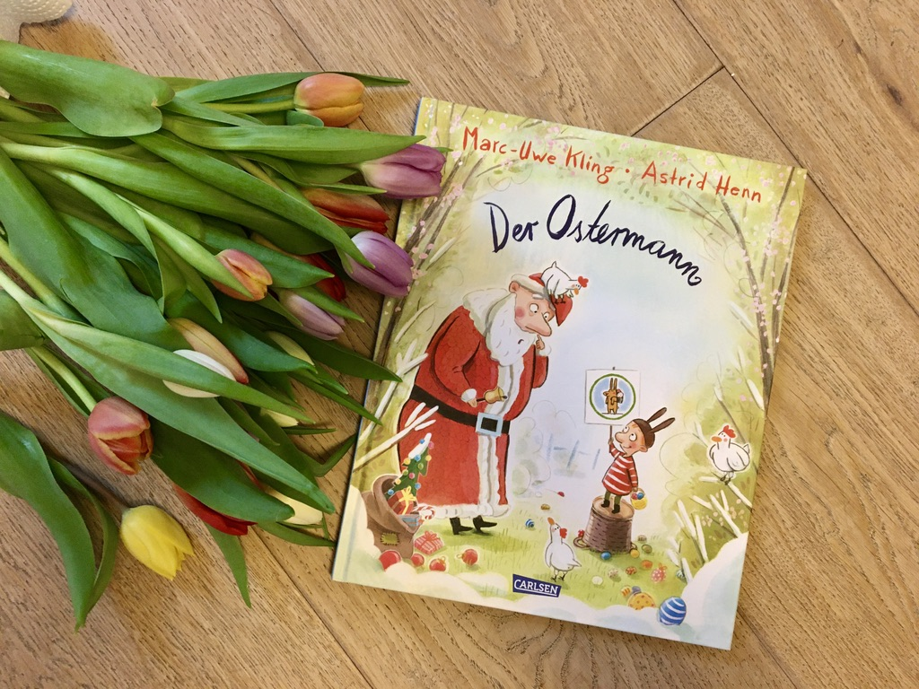 Der Ostermann von Marc-Uwe Kling (Text) und Astrid Henn (Illustration)