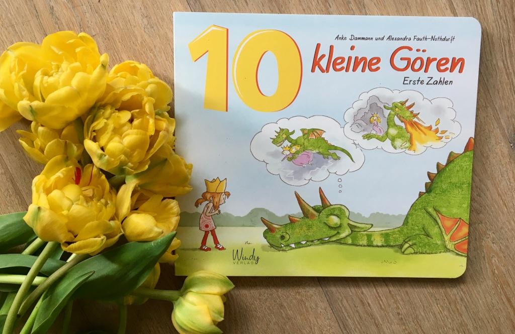 10 kleine Gören - Erste Zahlen von Anke Dammann (Illustration) und Alexandra Fauth-Nothdurft (Text)