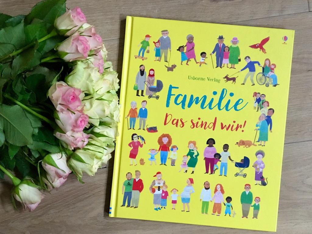 Familie - das sind wir! von Felicity Brooks (Text) und Mar Ferrero (Illustration)