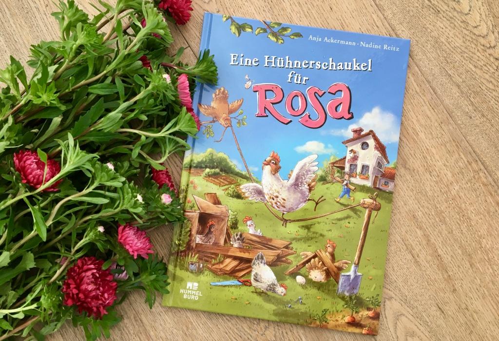 Eine Hühnerschaukel für Rosa von Anja Ackermann (Text) und Nadine Reitz (Illustrationen)