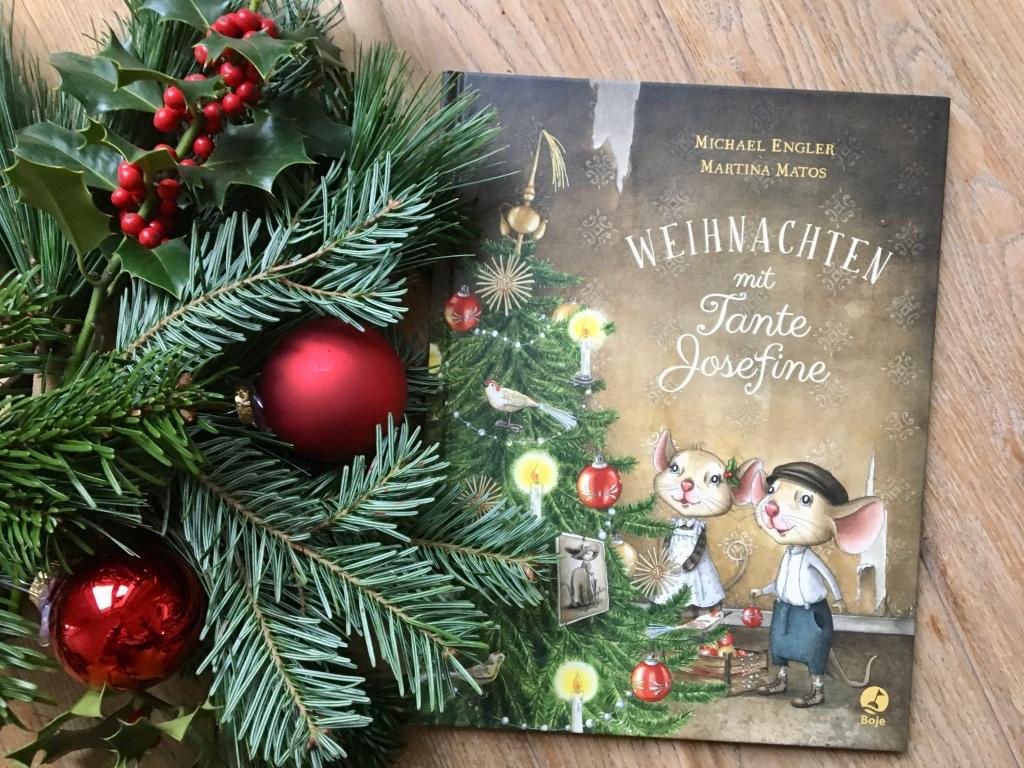 Weihnachten mit Tante Josefine von Michael Engler (Text) und Martina Matos (Illustrationen)
