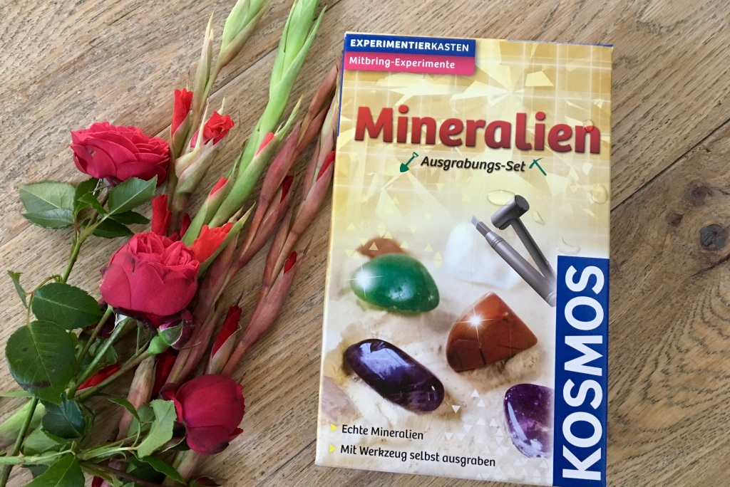 Mineralien Ausgabungs-Set Experimentierkasten von Kosmos