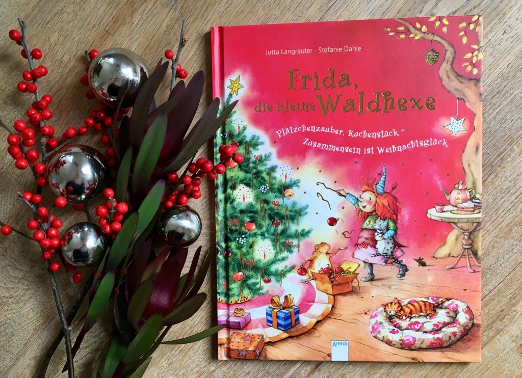 Frida, die kleine Waldhexe - Plätzchenzauber, Kuchenstück - Zusammensein ist Weihnachtsglück von Jutta Langreuter (Text) und Stefanie Dahle (Illustration)