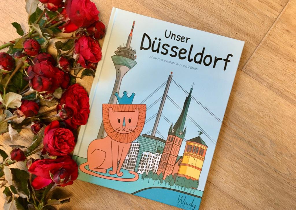 Unser Düsseldorf von Anke Kronemeyer (Text) und Anna Zörner (Illustrationen)