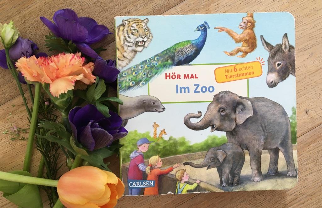 Hör mal - Im Zoo von Anne Möller (Text und Illustration)
