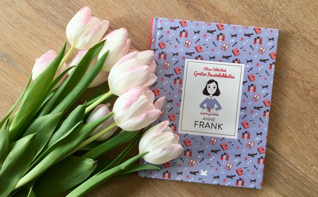 Kleine Bibliothek großer Persönlichkeiten - Anne Frank von Isabel Thomas (Text) und Paola Escobar (Illustration)