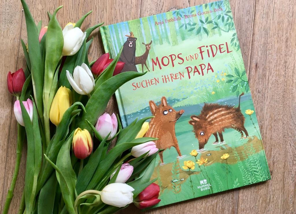 Mops und Fidel suchen ihren Papa von Anja Fröhlich (Text) und Betina Götzen-Beck (Illustration)