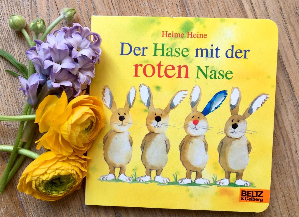Der Hase mit der roten Nase von Helme Heine