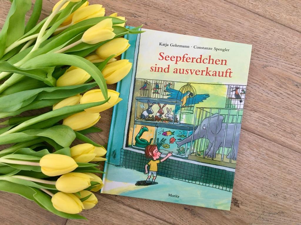 Seepferdchen sind ausverkauft von Katja Gehrmann (Illustration) und Constanze Spengler (Text)