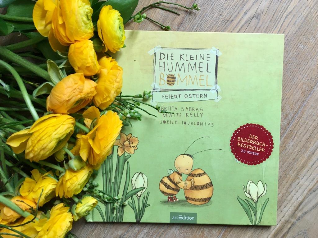 Die kleine Hummel Bommel feiert Ostern von Britta Sabbag, Maite Kelly (Text) und Joelle Tourlonias (Illustration)