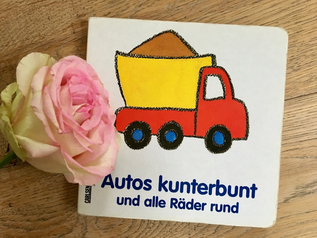 Autos kunterbunt und alle Räder rund von Rosa Löwe